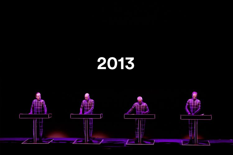 Kraftwerk performing their entire catalogue in 3D. Photo: Daniel Boud